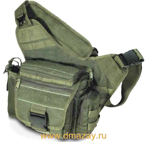 ����������� ����� �� ����� Leapers (������) PVC-P218G ������� UTG� Multi-functional Tactical Messenger Bag OD Green