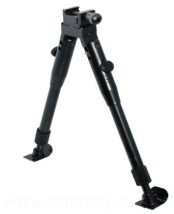 Сошки тактические регулируемые на антабку и планку с вращающимся основанием Weawer (Вивер) LEAPERS (Липерс) TL-BP69ST UTG Universal Shooter's Bipod - Tactical/ Sniper Profile Adjustable Height