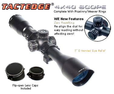 Оптический прицел LEAPERS (Липерс) SCP- 440MDLWTS 4x40 Full Size Range Estimating Mil-Dot Red/Green Illuminated Zero Resetting Scope