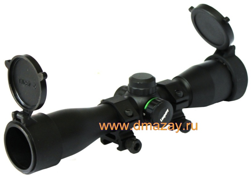 Оптический прицел LEAPERS (ЛИПЕРС) SCP-432MDLWTS 5TH GEN 4X32 Extra Long Eye Relief TS Compact Scope with Picatinny / Weaver Rings