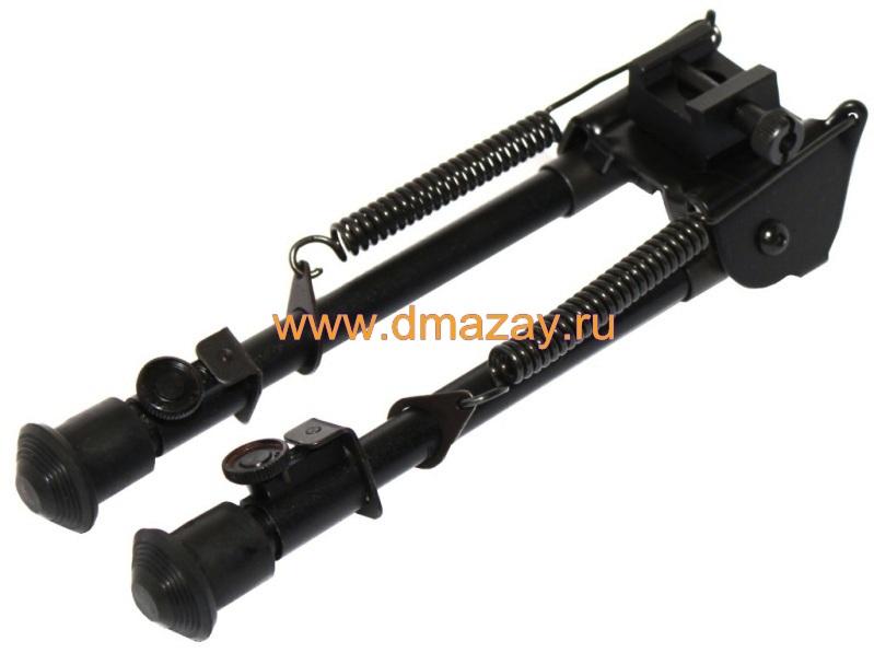 Сошки тактические регулируемые на антабку и планку с вращающимся основанием Weawer (Вивер) LEAPERS (Липерс)TL-BP88 UTG Tactical OP Bipod - Tactical/Sniper Profile Adjustable Height
