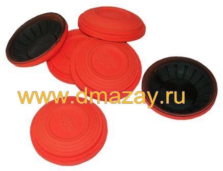 Тарелочки Nasta (Наста) Q Line Classical Standart мишени, targets для стрельбы классические стандартные оранжевые 200 штук
