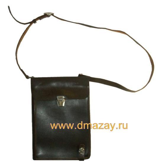 Планшет офицерский (полевая сумка, офицерская сумка) кожа.