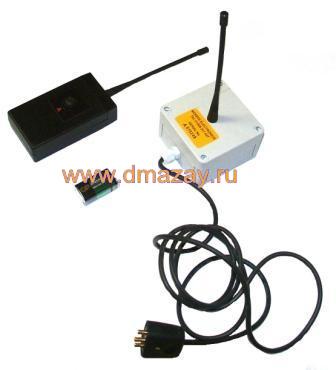 Дистанционный радиозапуск (пульт дистанционного управления) к одной машинке для стрельбы (метания тарелочек, запуска мишеней) электрической Pro-Matic (Проматик) Single Channel Radio