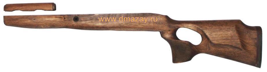 Ложа (приклад ортопедический) с подщечником к охотничьему карабину ОП СКС/SKS (АРХАР) с подщечником орех Россия.
