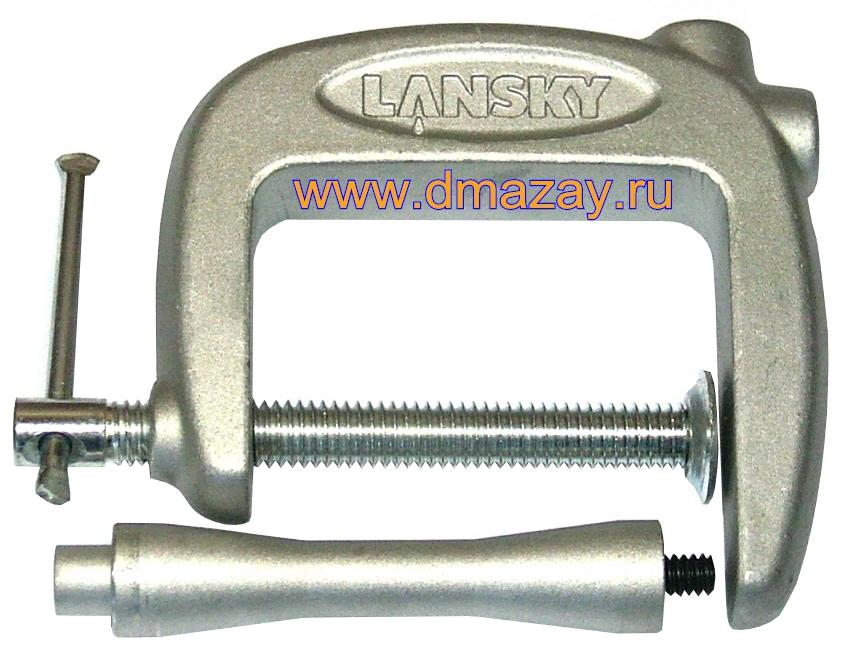 "����� ������ ��� ������� ����� � ���������� � ����� LANSKY SHARPENERS (������ ���������) LM010 Convertible Super ""C"" Clamp"