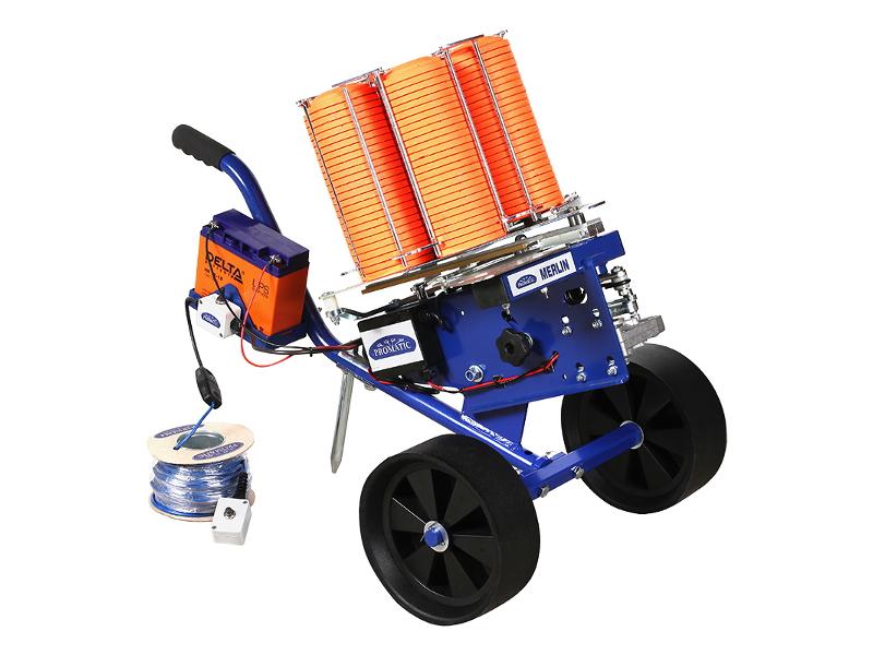 Метательная машинка электрическая с тележкой PROMATIC MERLIN TROLLEY