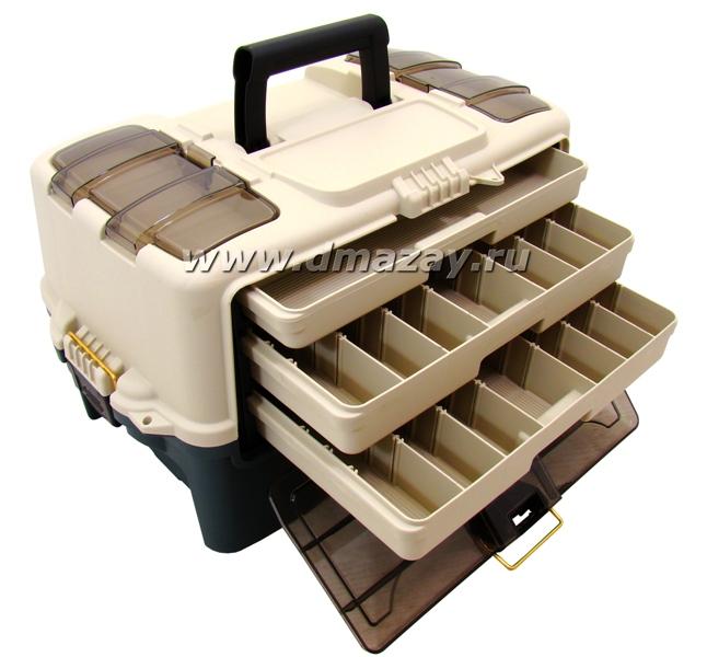 Рыболовный ящик для хранения снастей и приманок PLANO (Плано) HYBRID HIP TRAY BOX 7233-00 (723300)