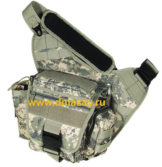 ����������� ����� �� ����� Leapers (������) PVC-P218R �����/������� ����� UTG� Multi-functional Tactical Messenger Bag Army Digital