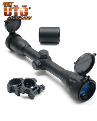 Оптический прицел LEAPERS (Липерс) SCP-432AOMDTS Master Sniper 4X32 Full Size A.O. Range Estimating Mil-Dot Scope.