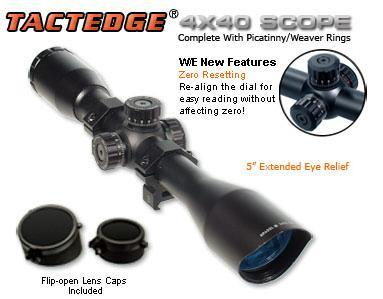 Прицел оптический Leapers (Липерс) SCP-440MDLWTS 4x40 Full Size Range Estimating Mil-Dot Red/Green Illuminated Zero Resetting Scope (снят с производства)