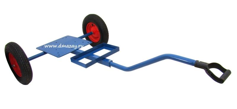 Тележка двухколесная FLYDISK Trolley для метательных машинок FLYDISK и баз непредсказуемого запуска.
